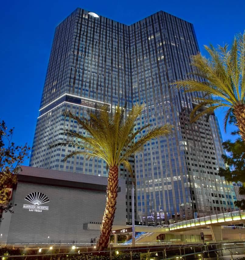 Waldorf Astoria high rise las vegas