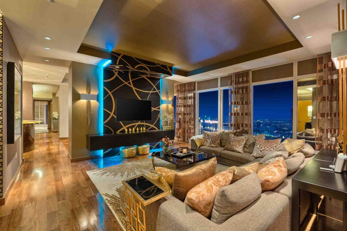 Waldorf Astoria Las Vegas High Rise