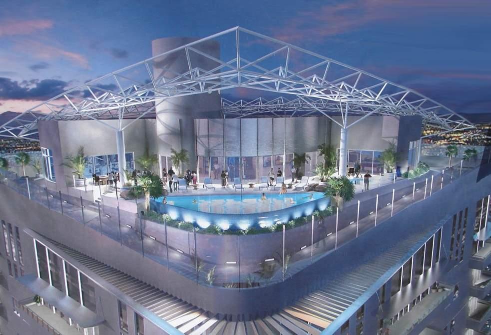 Newport Lofts High Rise in Las Vegas