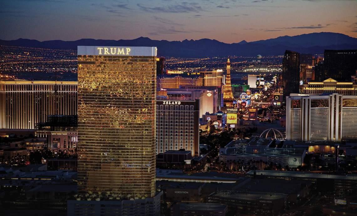 Trump Tower high rise las vegas